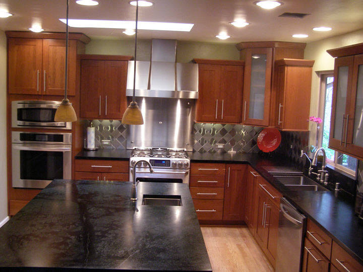 Stainless Steel Hood Backsplashes Oven Refrigerator Trims And Undermount Sinks